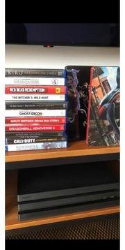 PS4 Pro 1TB Spiele