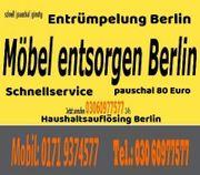 Sofortservice Entrümpelung Berlin Pauschalpreis 80