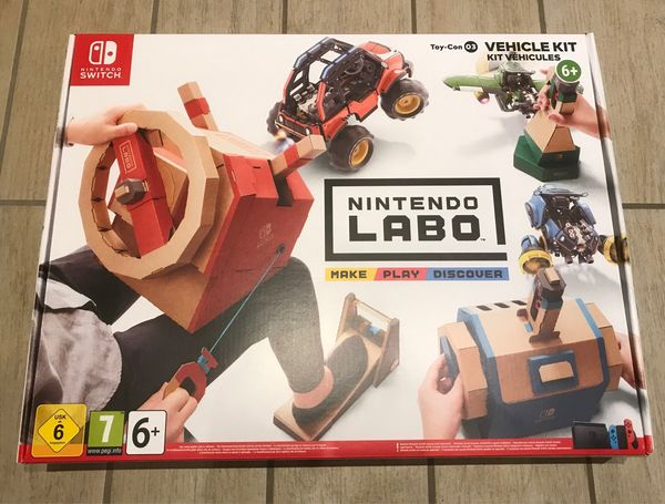 NEU Nintendo Switch Labo Toy