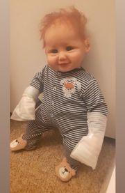 lebensechte Puppe Junge ca 47cm