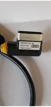 Audi original Adapter Kabel Leitung