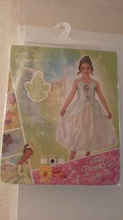 Prinzessin Tiana Kleid neu in