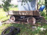 Ackerwagen Holzrolle