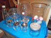 Glasbehälter Glasvasen