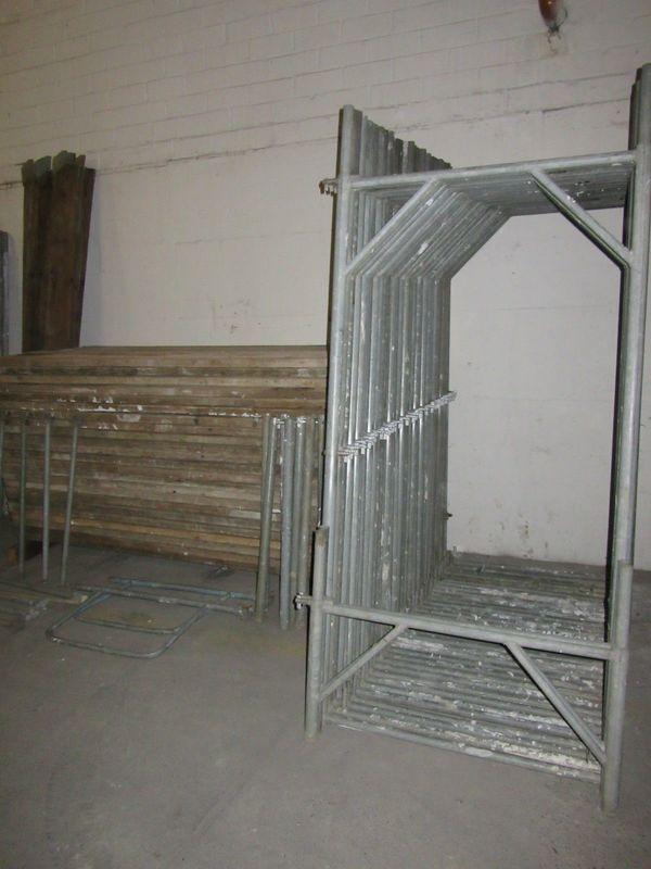 Gerüst Baugerüst Plettac ca 250m²