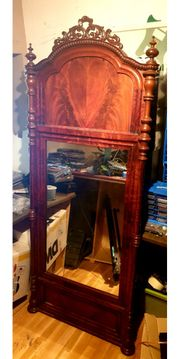 Alter antiker Spiegel vintage massiv