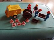Playmobil Kompressor und div Baustellen