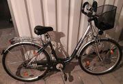 Damenfahrrad Stadt- und Trekkingbike Barracuda