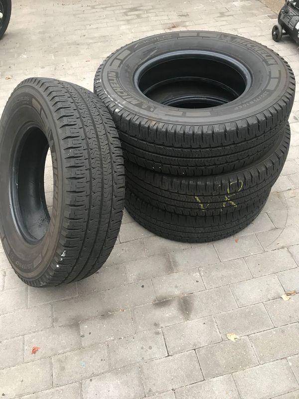 Transporter Wohnmobil-reifen Michelin Agilis Camping