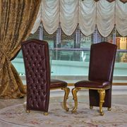 8x Design Chesterfield Stühle Stuhl
