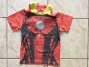 Iron Man T-Shirt mit Kapuze