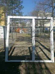 Terrassentür mit Seitenteil 220 cm
