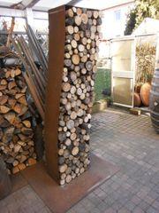 Kaminholzregal - Holzlege - Holzlager - Sichtschutz aus
