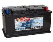 BSA Solar Gel Batterie 100Ah