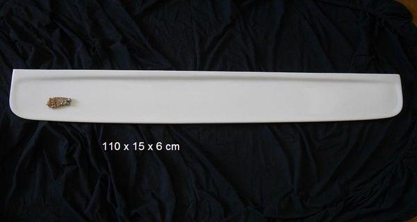 Spiegelablage aus Keramik weiß 110