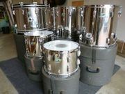 Vintage LUDWIG Stainless Steel Schlagzeug Drum-Set