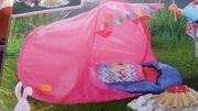 Babyborn Zelt mit Lagerfeuer