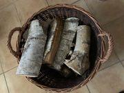 Birkenholz für Kamin