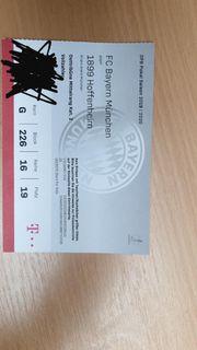 Fc Bayern gegen Hoffenheim DFB