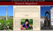 Deutsch als Fremdsprache per Skype