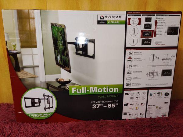 TV-Wandhalterung SANUS VFL220-B1 Full-Motion 37-65