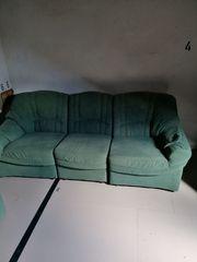 sofa grün 3 sitzer 2