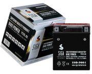SIGA Motorrad Batterie AGM 7Ah
