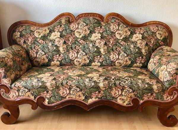 Sofa Couch - Biedermeier