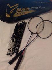Badminton Set mit Netz