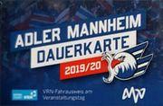 Adler Mannheim Dauerkarten Saison 2019