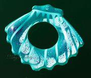 NEU aufblasbarer Schwimmreifen Schwimmring Glitzer