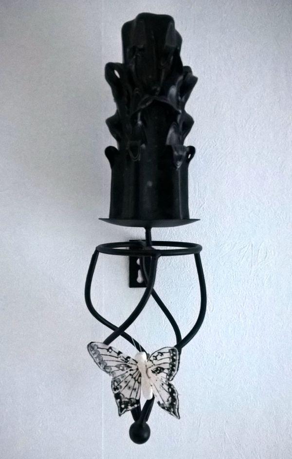 Kerzenständer Metall kerzenleuchter kerzenhalter kerzenständer metall schwarz leuchter