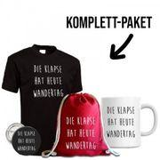 Turnbeutel T-Shirt Tasse und Button