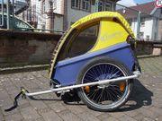Fahrradanhänger Kindercar für 1 oder