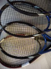 4 Tennisschläger