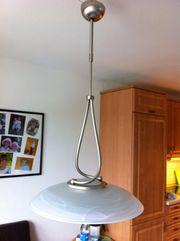 Lampe Esszimmer in Edelstahldesign