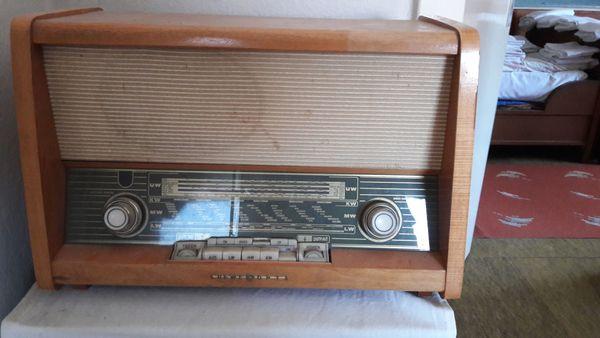 Loewe Opta Röhrenradio Radio 1950