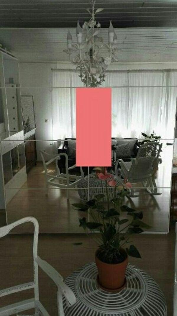 TAUSCH 200x236 IKEA PAX SCHIEBETÜREN TÜREN SPIEGELGLAS WEIß AULI in ...