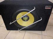 Bass Box und Verstärker