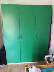IKEA PAX Kleiderschrank grün 150cm