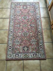 Teppich 132x70 cm 100 Schurwolle