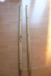 2 Holzpfähle (150cm)