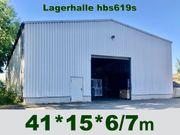 Rückbau- Stahlhalle 41x15x7m Lagerhalle zur