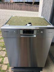 Bosch Exclusiv Spülmaschine Voll Edelstahl