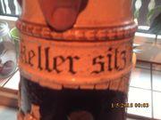 Weinkrug 3 L Steingut Alt