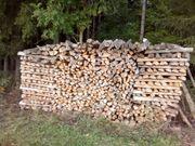 Brennholz Fichte Tanne trocken