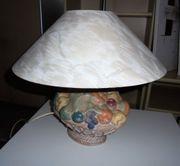 Lampe mit Terracotta Fuss