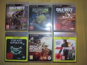 6x PS3 - Action Games