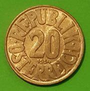 20 Groschen 1954