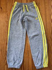 Adidas Jogginghose Sporthose grau Gr